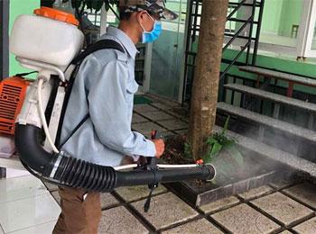 Diệt côn trùng huyện Gia Bình